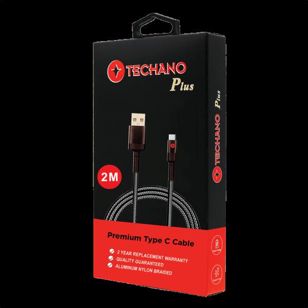 Techano premium usb-c data cable